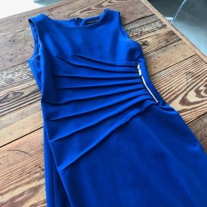 Blue Ivanka Trump Work Dress - Size 4